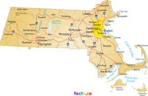 Massachusetts On A Map by Map Of Massachusetts Towns And Cities Pictures To Pin On