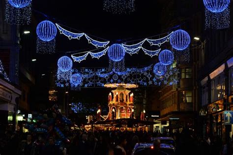 when is the christmas lights switch on in birmingham
