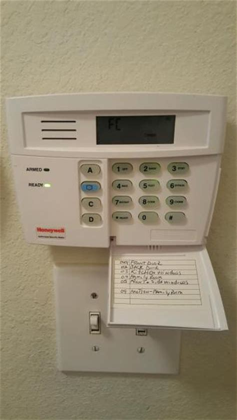 add keypad to alert pro security system