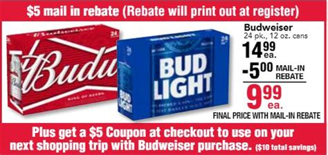 32 pack of bud light great budweiser deal at jewel