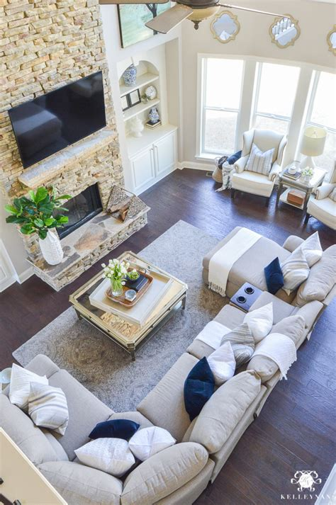 pinterest living room furniture decked and styled spring home tour kelley nan