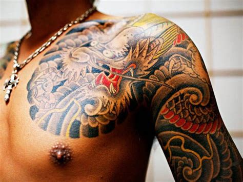 yakuza tattoo pattern yakuza tattoos japanese gang members wear the culture of