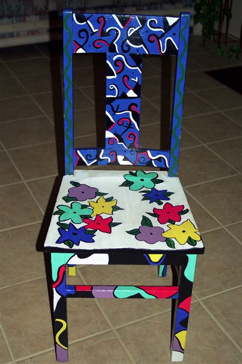 painted armchair personal artwork painted chairs by carrie butler at