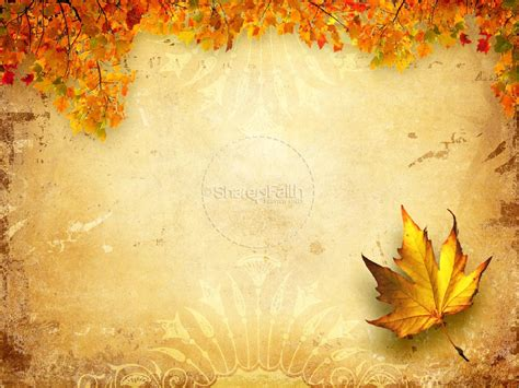 Fall Church Graphics Powerpoint Fall Thanksgiving Powerpoints Autumn Powerpoint Background