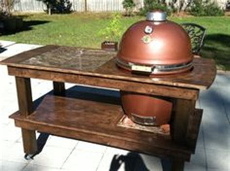 grill dome table plans everything bbq on big green eggs build a