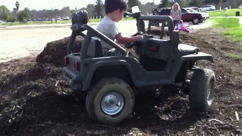 Power Wheels Jeep 4x4 Powerwheels 4x4 Real 4wd