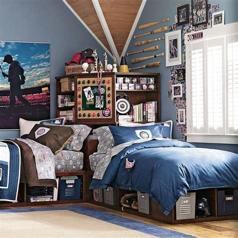 shared boys bedroom ideas 21 cool shared teen boy rooms d 233 cor ideas digsdigs