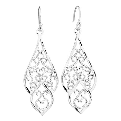 Sterling Silver Earring drop earrings in sterling silver