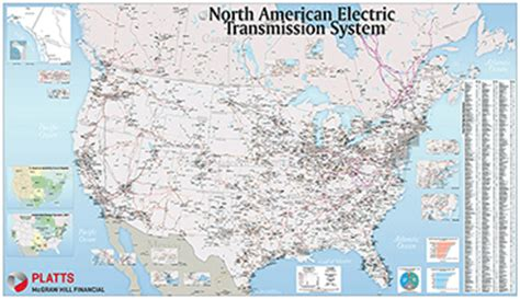 american electric transmission system map americas