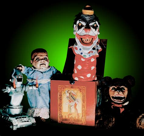 killer toys horror baby lobo and mitch mittens review puppet master vs