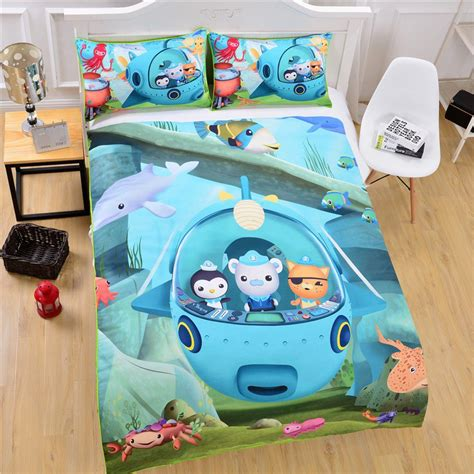 octonauts bedroom 2 pcs octonauts bedding 1 duvet cover 1 pillow case kids bedding
