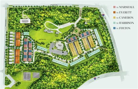 site plan site plan grosvenor heights bethesda townhomes eya