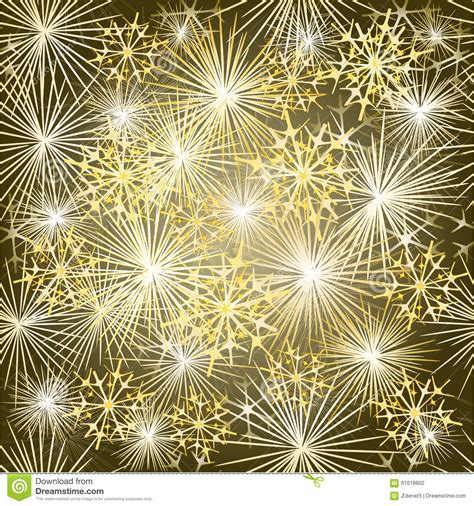new year seamless texture fireworks gold background vector
