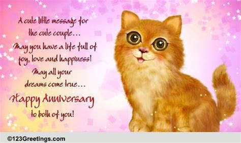 cute anniversary     couple ecards greeting cards