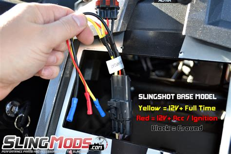 polaris slingshot aftermarket stereo wiring harness