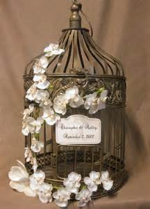 wedding card birdcage items similar to gold bird cage wedding card box vintage