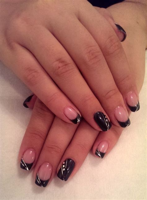 imagenes de uñas de acrilico color negras dise 241 o de u 241 as galeria de u 241 as decoradas imagenes de