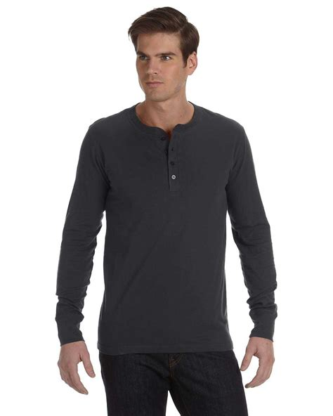 Kaos Polos Longsleeve Cotton Combed 30s Black canvas 3150 s jersey sleeve henley apparelchoice