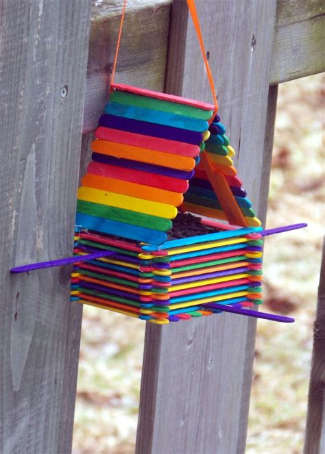 craft sticks project ideas 25 best ideas about popsicle stick birdhouse on