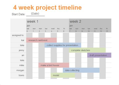 timeline template 61 free word excel pdf ppt psd