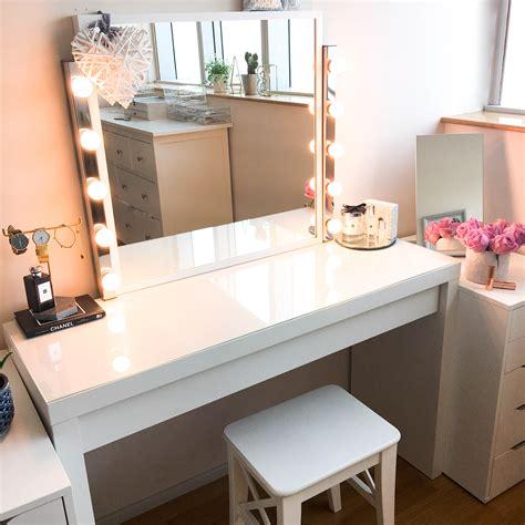 my diy dressing table and vanity mirror baker