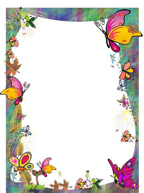 mariposa en word portadas para trabajos escolares en word imagui