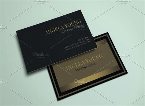 gold business card template 25 black and gold business card templates