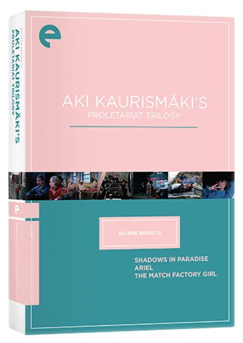Box Aki R Original eclipse series 12 aki kaurism 228 ki s proletariat trilogy