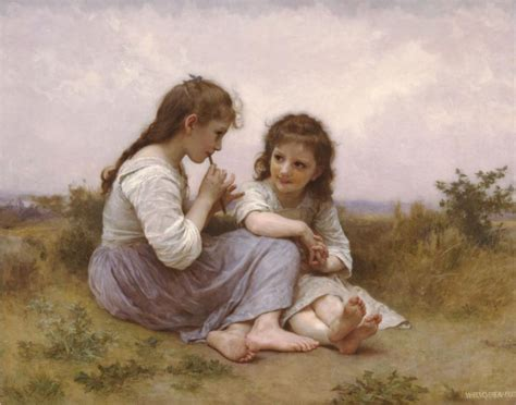 by william bouguereau two sisters william adolphe bouguereau gallery oil painting