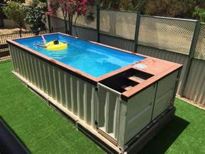 stylehunter collective summer upcycling at it s best shipping container pool stylehunter