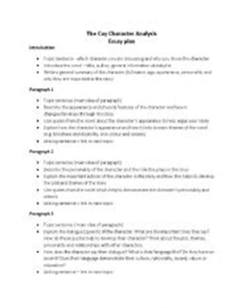 Character Analysis Essay Outline by Essay Outline Character Analysis Writing Undergraduate Thesis Writers For Hire Uk