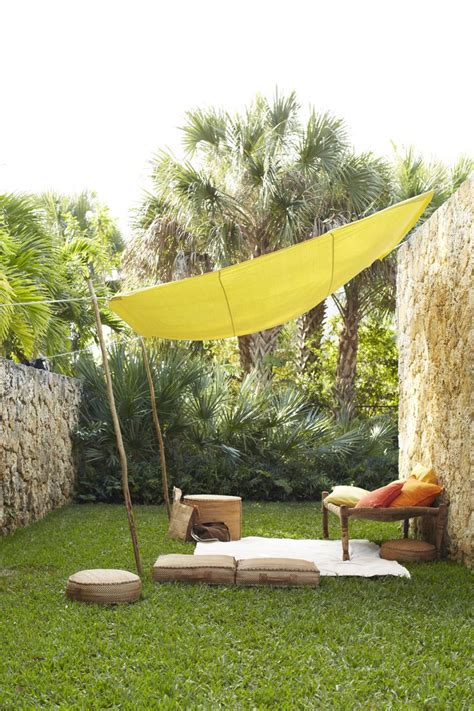 tent backyard easy canopy ideas to add more shade to your yard