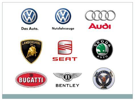 companies that volkswagen owns volkswagen