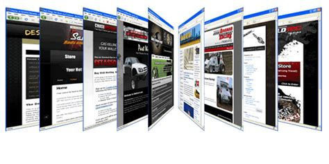 Handmade Web - custom web design
