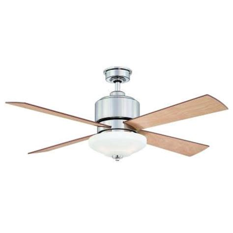 Home Depot 52 Ceiling Fans by Hton Bay Alida 52 In Liquid Nickel Ceiling Fan