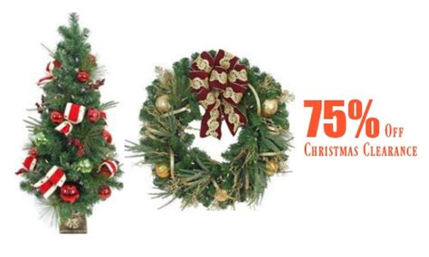 christmas decorations on sale or clearance 75 off christmas clearance items a couponer s life