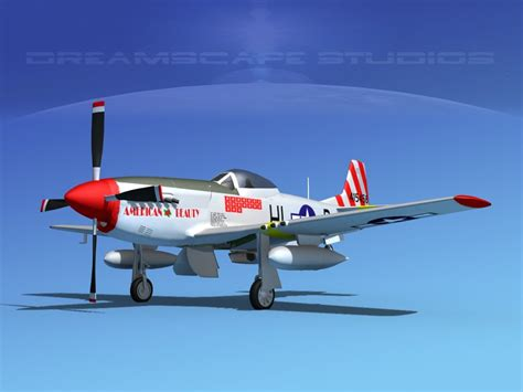 P 51 Mustang Autocad by P 51d Cockpit Propeller 3d Dxf