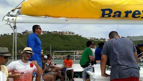 barefoot catamaran icacos icacos island picture of castillo tours san juan