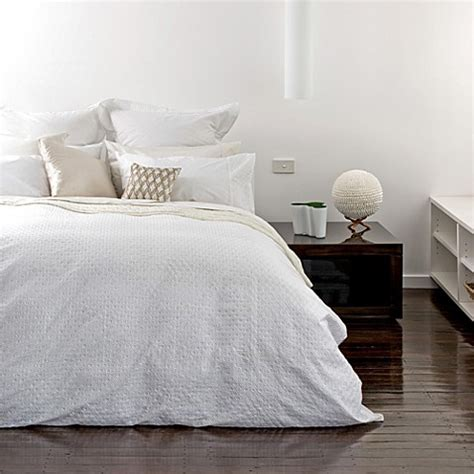 bed bath beyond duvet covers kas 174 white capri duvet cover set 100 cotton bed bath