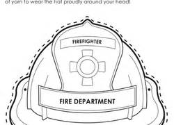 firefighter hat template preschool fall worksheets free printables education