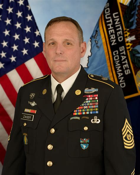 command sergeant major william b zaiser gt u s department