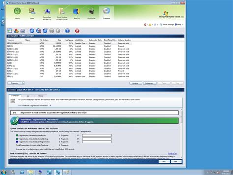 diskeeper 2011 for windows home server 2011 small biz server