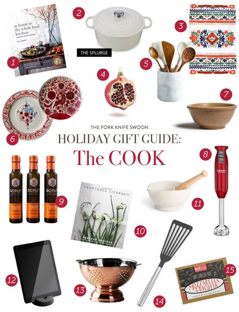 holiday gift guide the cook fork knife swoon