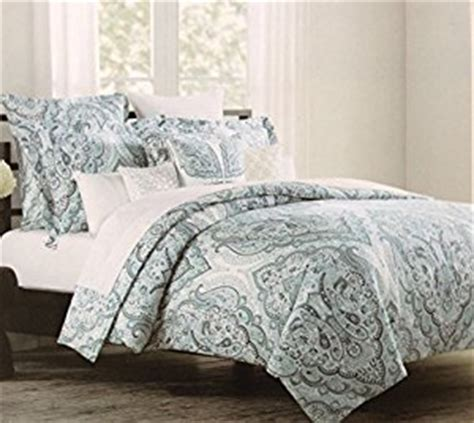 tahari bedding amazon com tahari home paisley full queen duvet slate