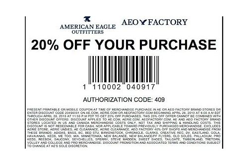 american eagle coupons december