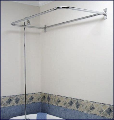 26 best images about clawfoot tub shower rod on