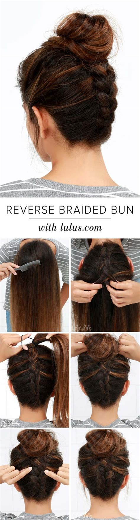 How To Do Hairstyles Buns by 5 Exles Of How To Make Bun Hairstyles Step By Step