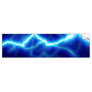 Lightning Bolt Car Graphics Lightning Bolt Bumper Stickers Car Stickers Zazzle
