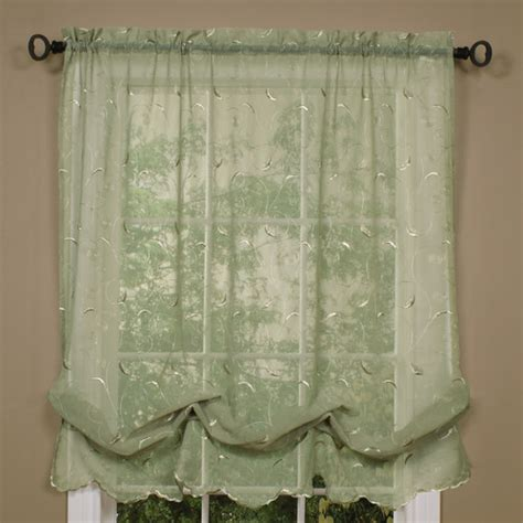 making balloon curtains commonwealth home fashions hathaway linen tie up shade