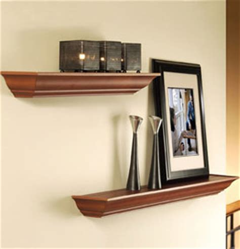 Decorative Wall Mounted Shelves by Floating Decorative Wall Shelf Black In Wall Mounted Shelves